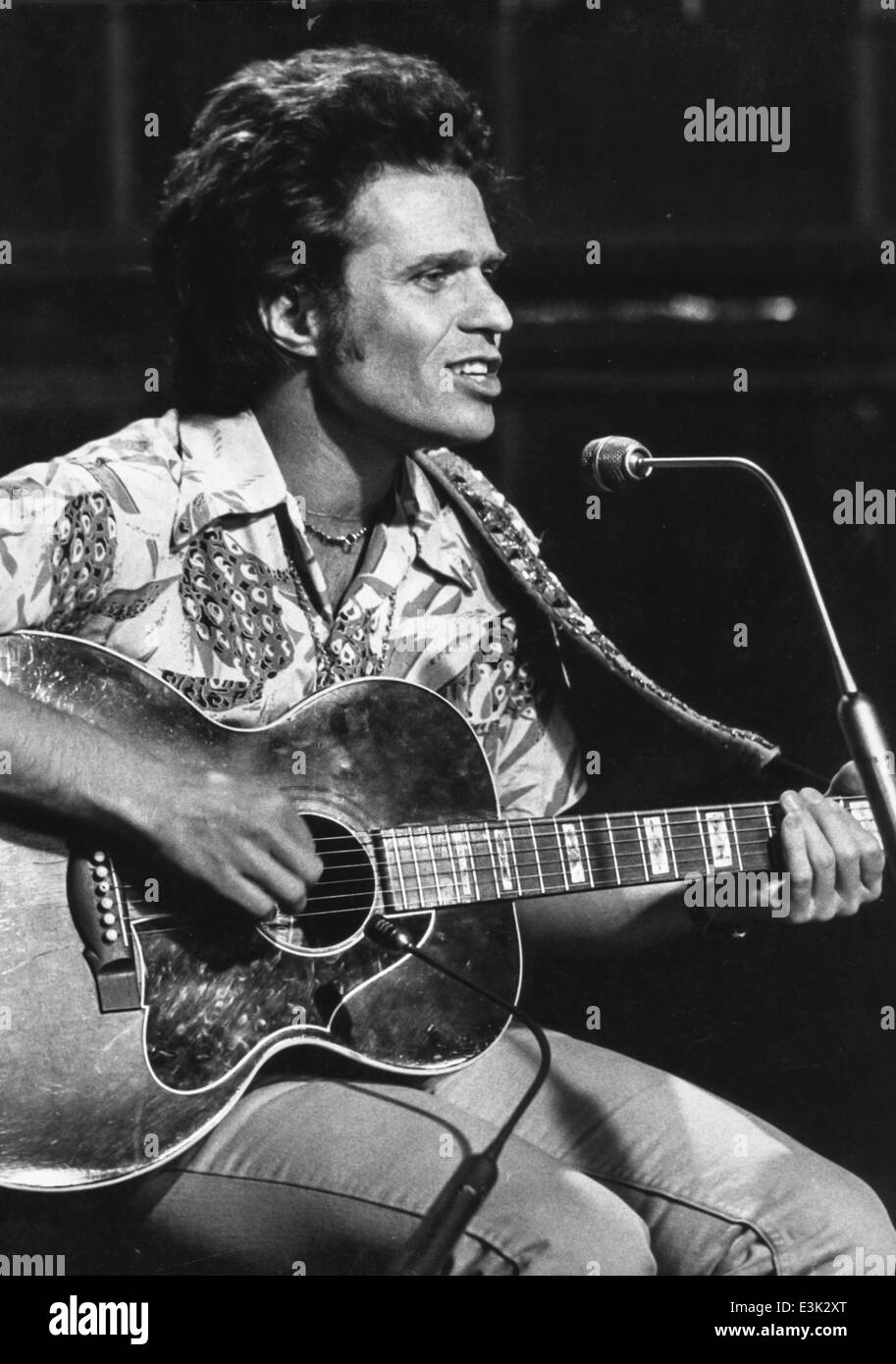 country joe mcdonald,70's - Stock Image