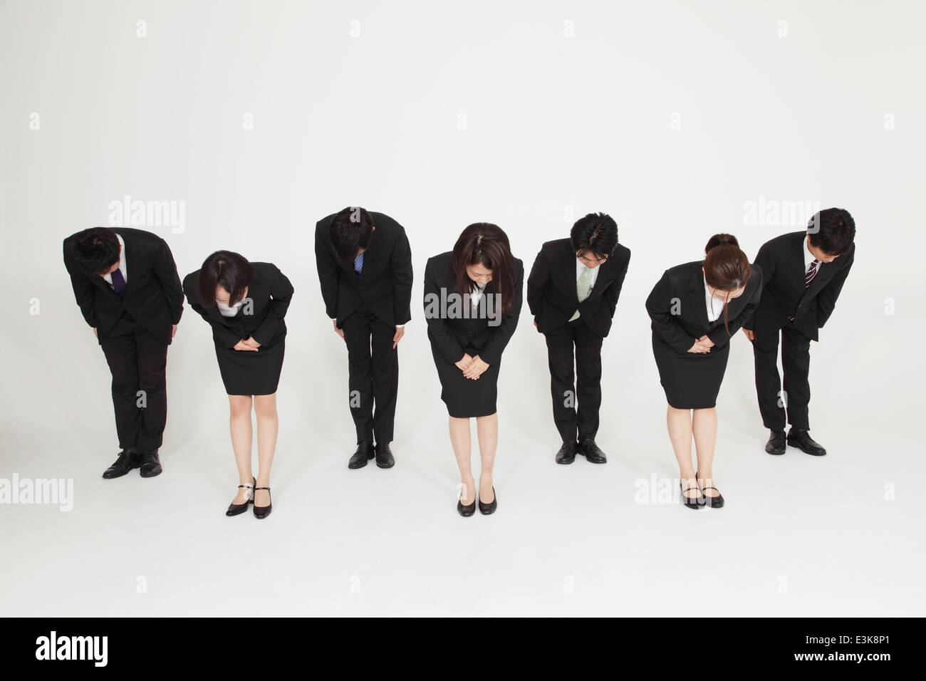 Japanese Bowing Stock Photos Japanese Bowing Stock Images Alamy