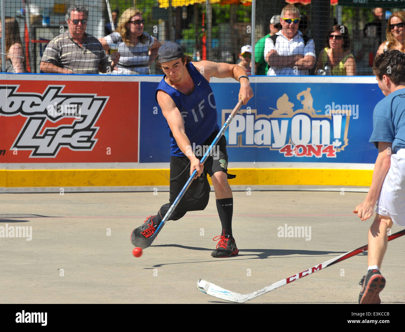 Images From A Play On Hockey Tournament Held In Victoria Park In