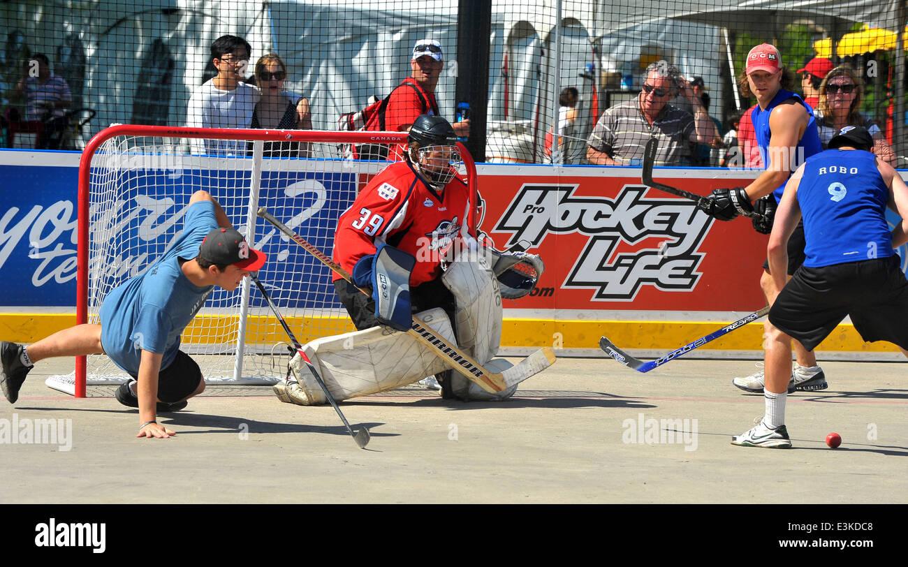 Street Hockey Canada Stock Photos Street Hockey Canada Stock