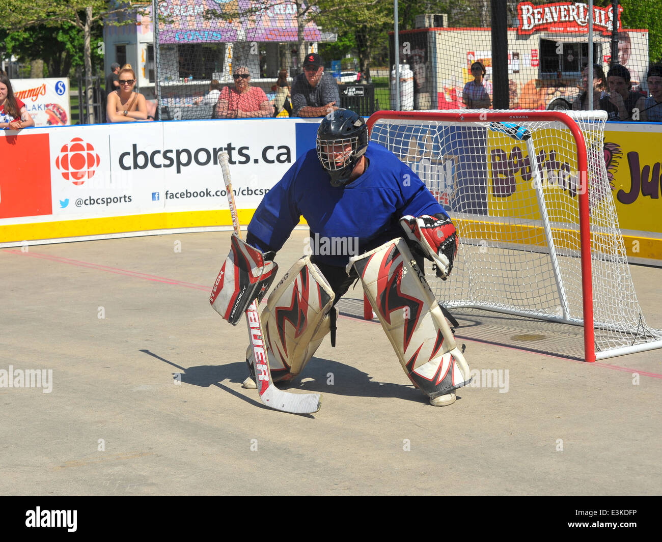 Images From A Play On Hockey Tournament Held In Victoria Park In London Ontario In Canada