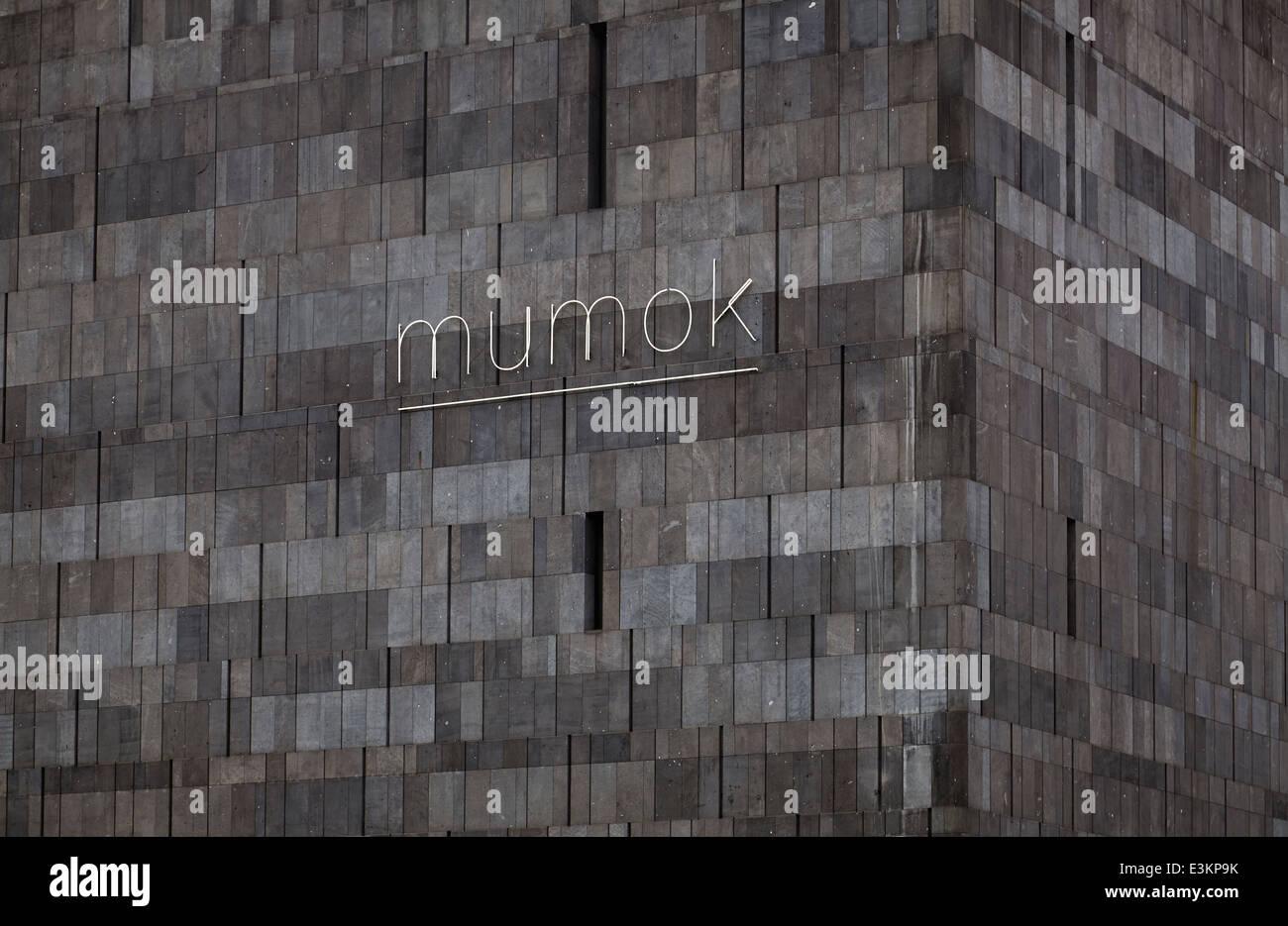MUMOK - Museum Moderner Kunst Stiftung Ludwig Wien / museum of modern art Vienna - Stock Image