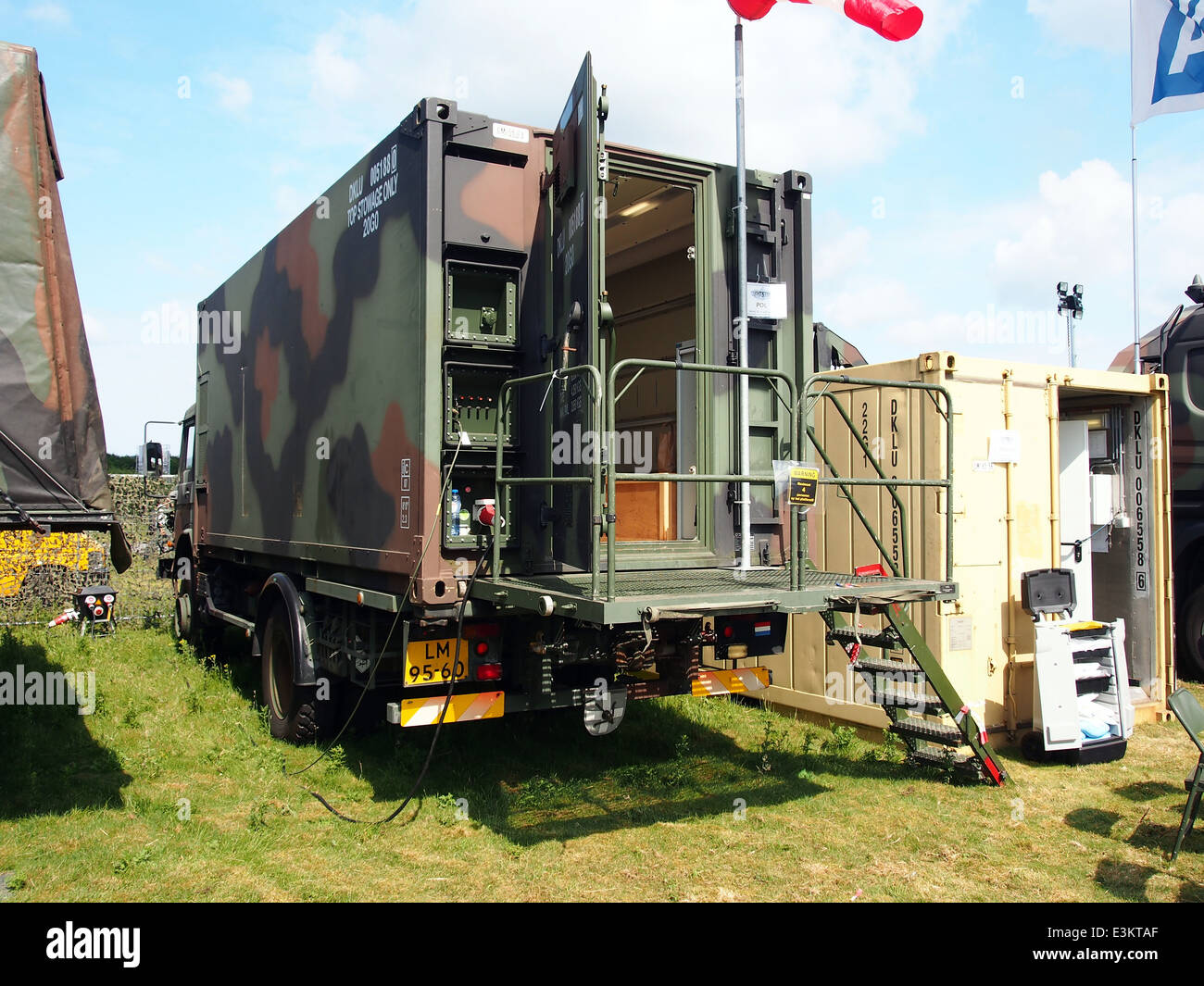 POL (Petrol, Oil & Lubric) unit of the Royal Dutch Army - Stock Image