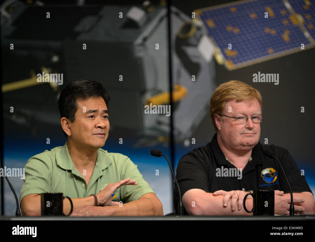 Orbiting Carbon Observatory-2 (OCO-2) Briefing - Stock Image
