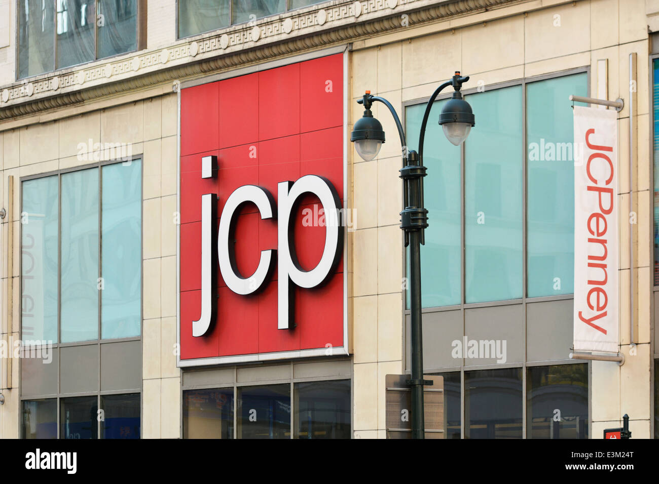JC Penney, J.C. Penney Department Store, New York - Stock Image