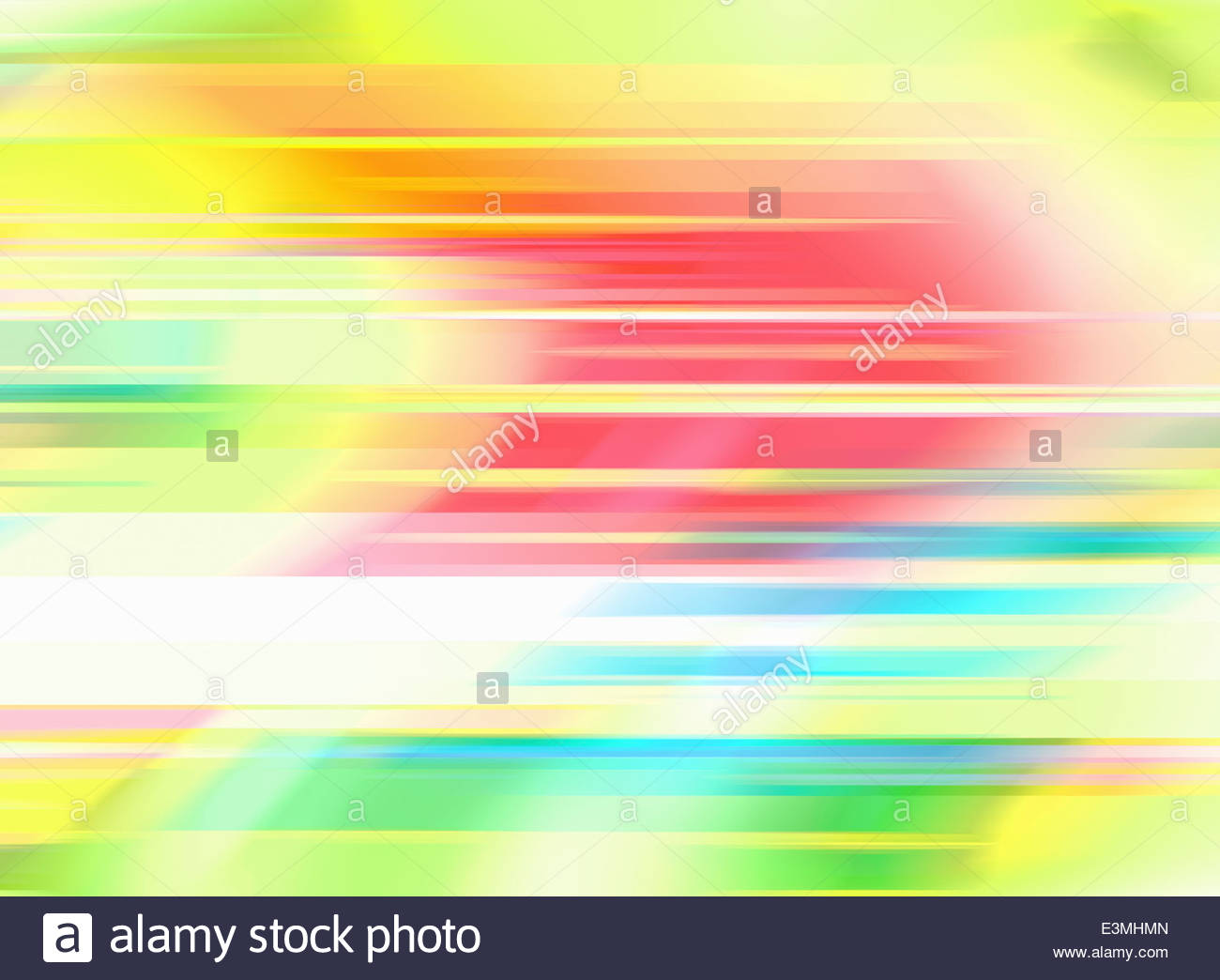 Multicolored blurred abstract backgrounds pattern - Stock Image