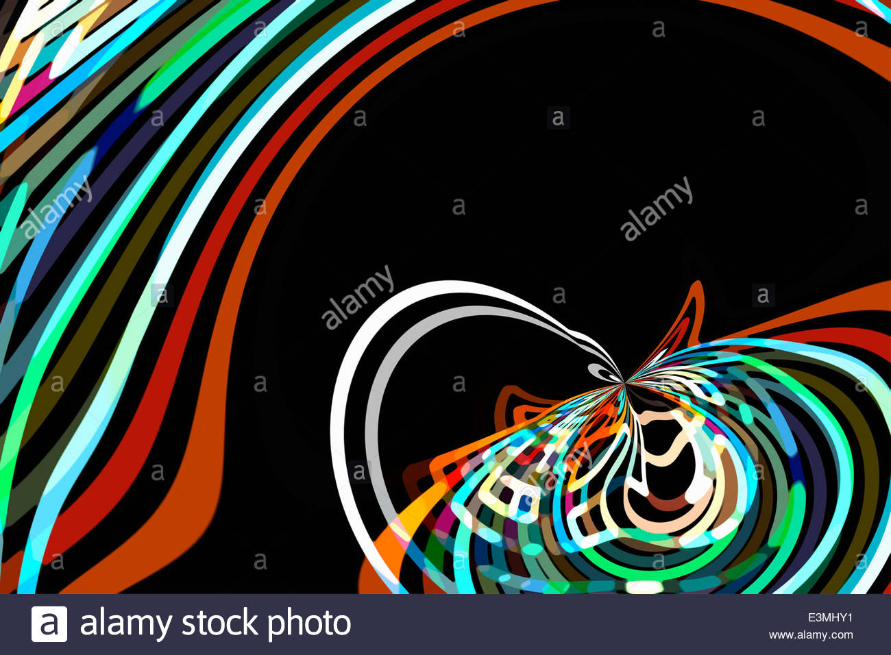 Curved Line Design Art : Curved line stock photos images alamy