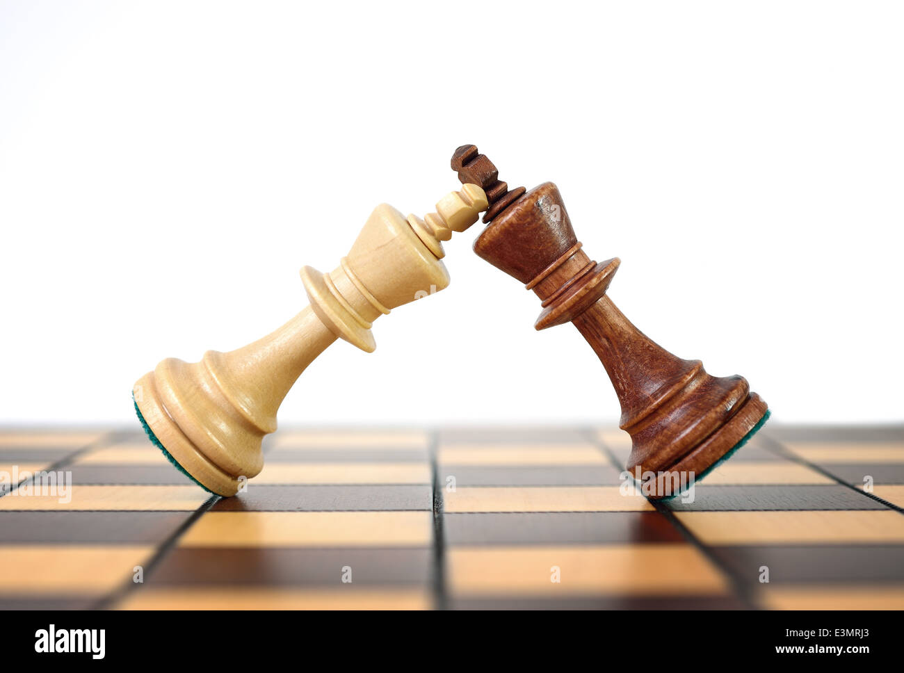 Kings chess duel. Duel rulers. - Stock Image