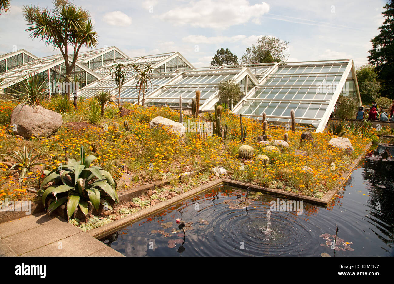 Princess of Wales Conservatory in Kew Royal Botanic Garden,London,UK ...