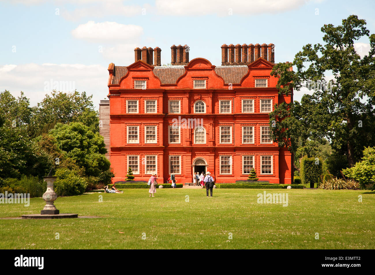 Kew Palace in Kew Royal Botanic Garden,London,UK Stock Photo
