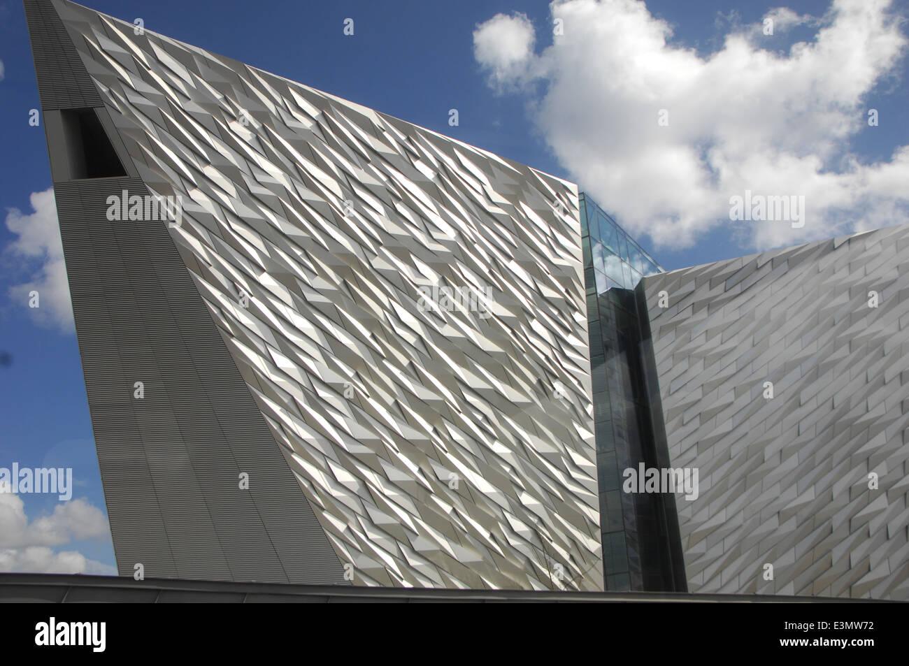 The Titanic Museum. - Stock Image
