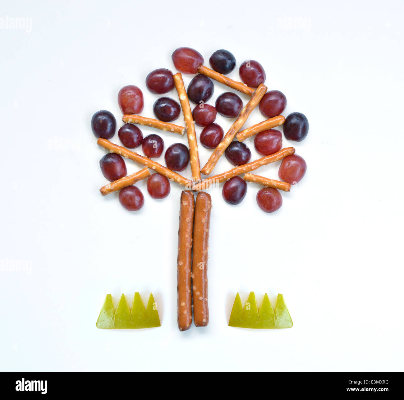 Tree Food Art - Stock Image