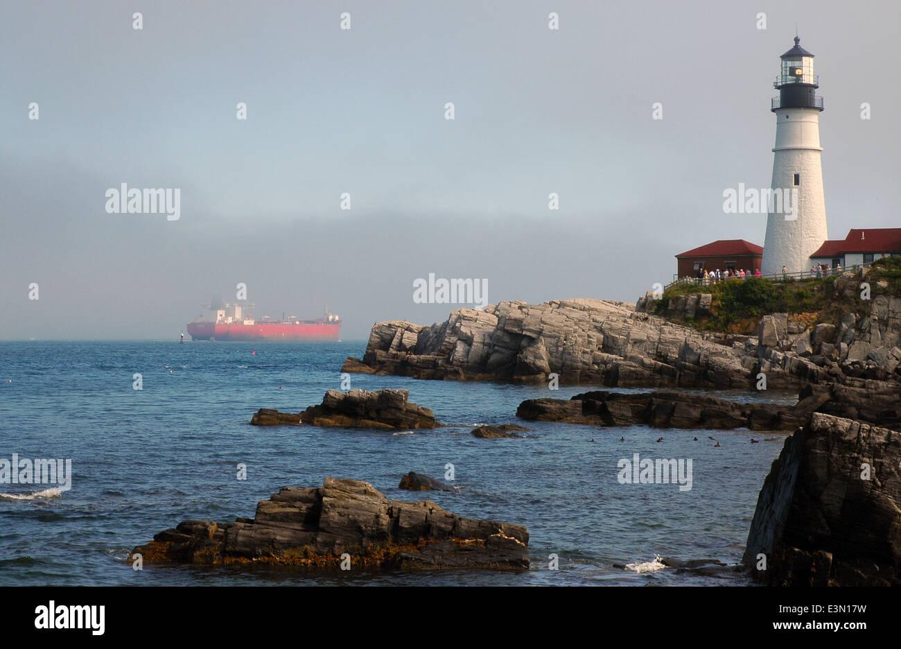 Lighthouses - guiding lights for ships