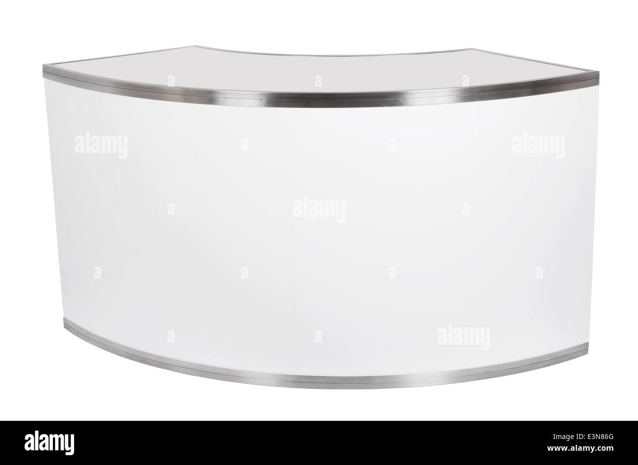 Curved Plexi Bar - Stock Image