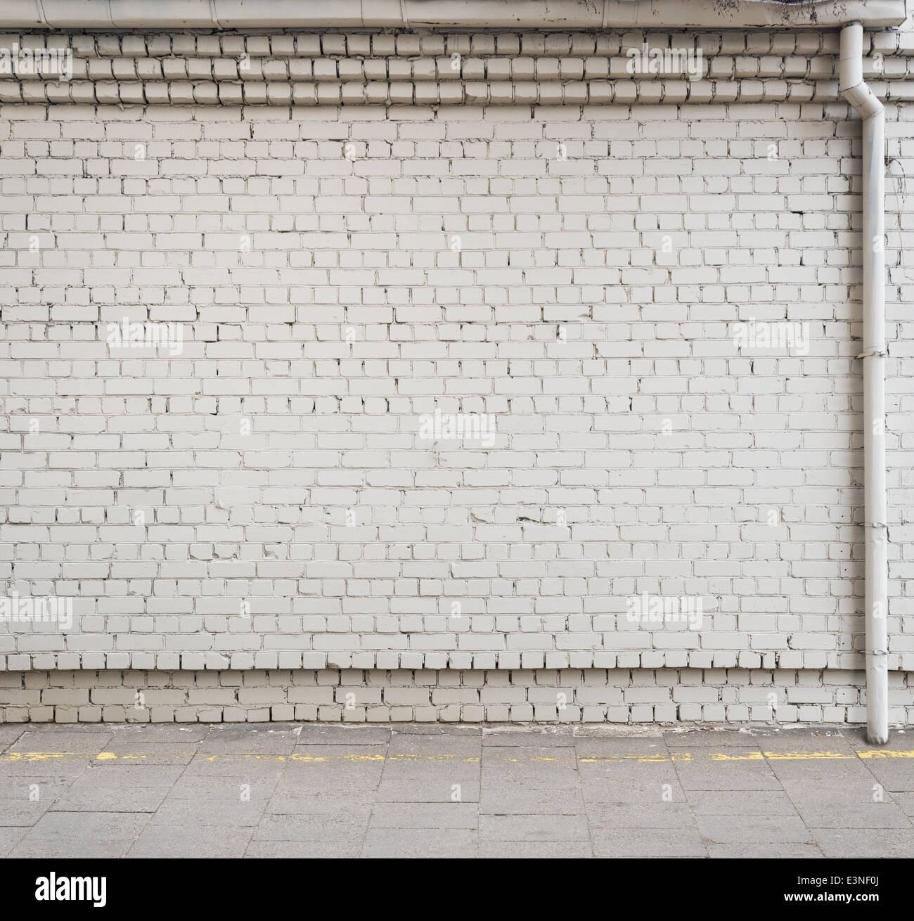 Urban Background Empty Street Wall Stock Photo 71158210