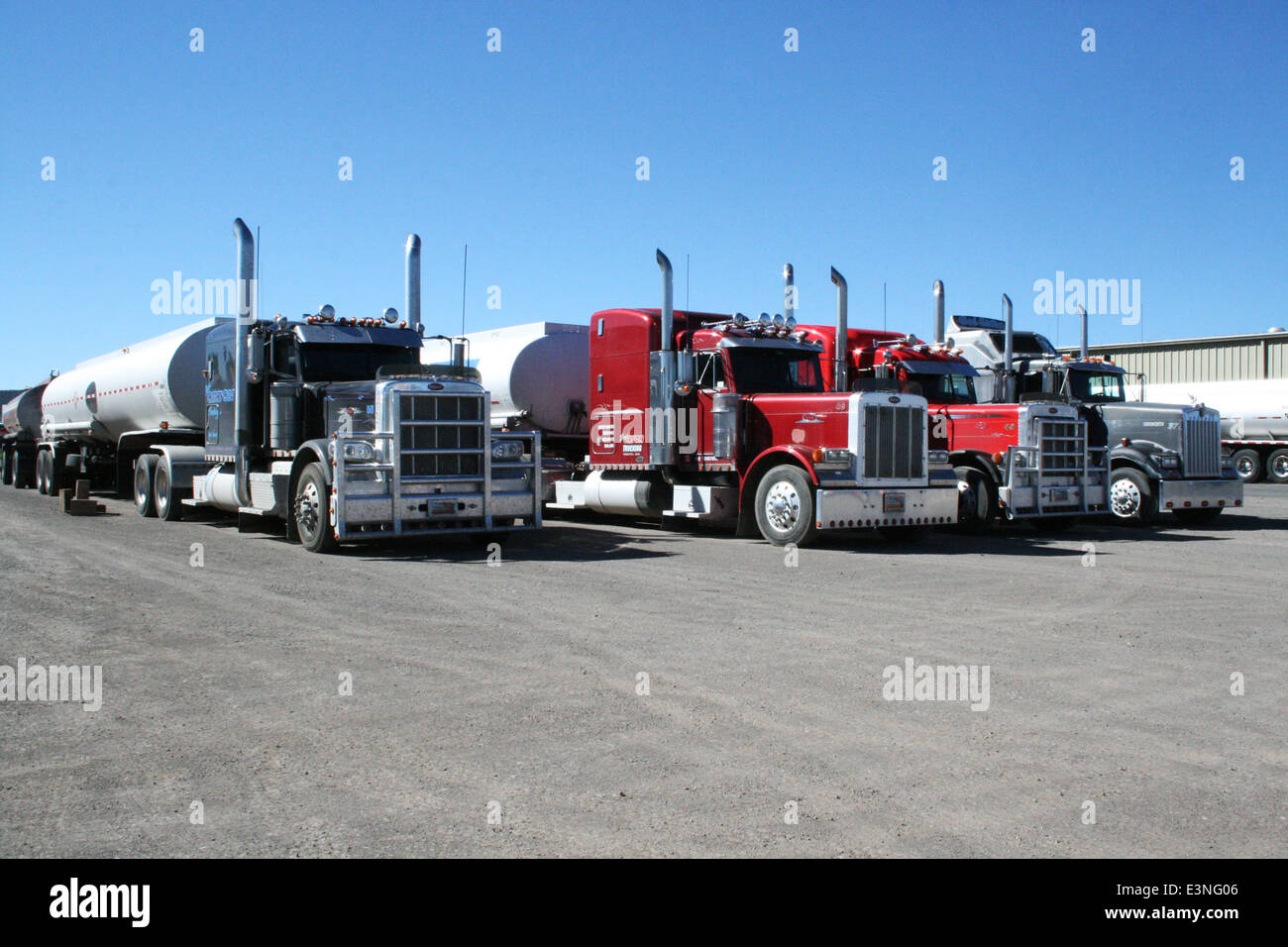 American Trucks - Stock Image