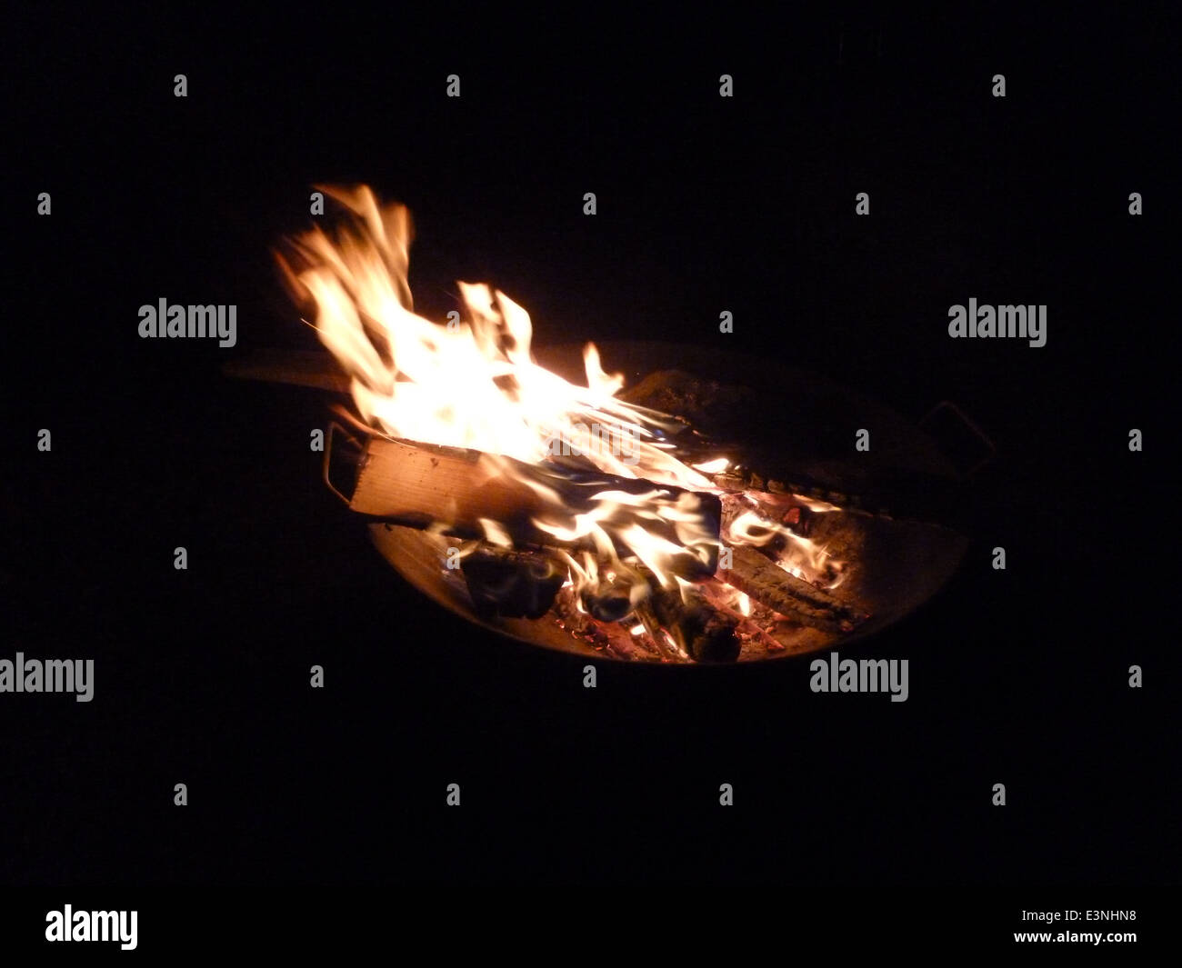 Lagerfeuer - Stock Image