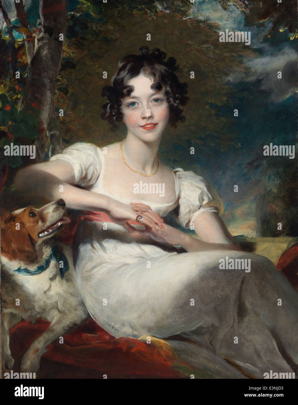 Sir Thomas Lawrence - Lady Maria Conyngham - 1825 - Stock Image