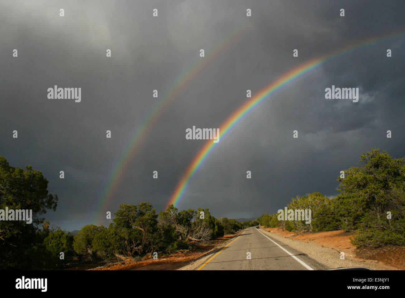 Rainbows - Stock Image