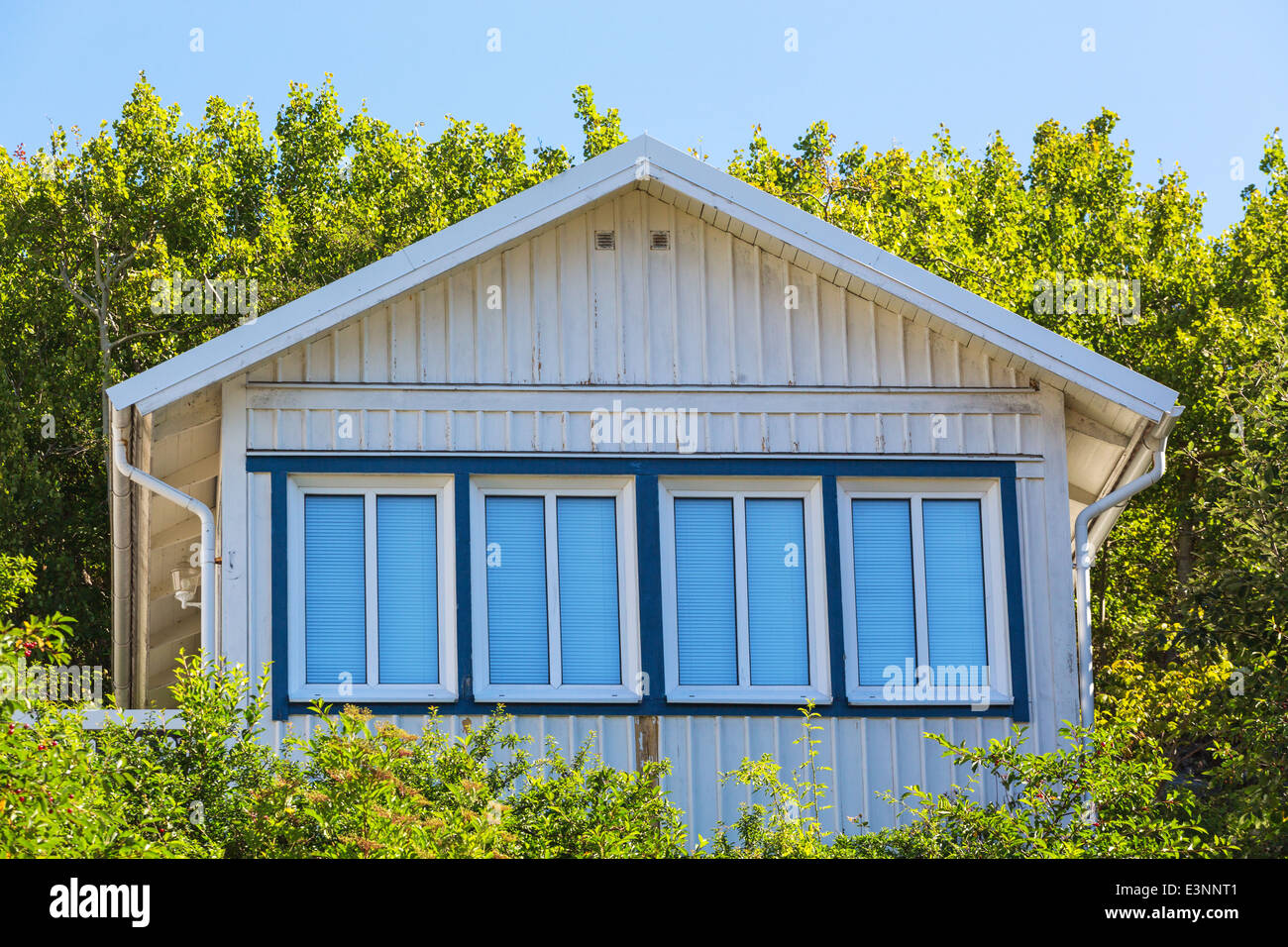 House gable with window - Stock Image