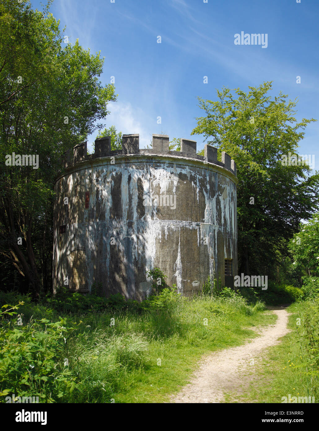 Old Water Tower Converted Into A Hibernaculum Home For Bats Toys