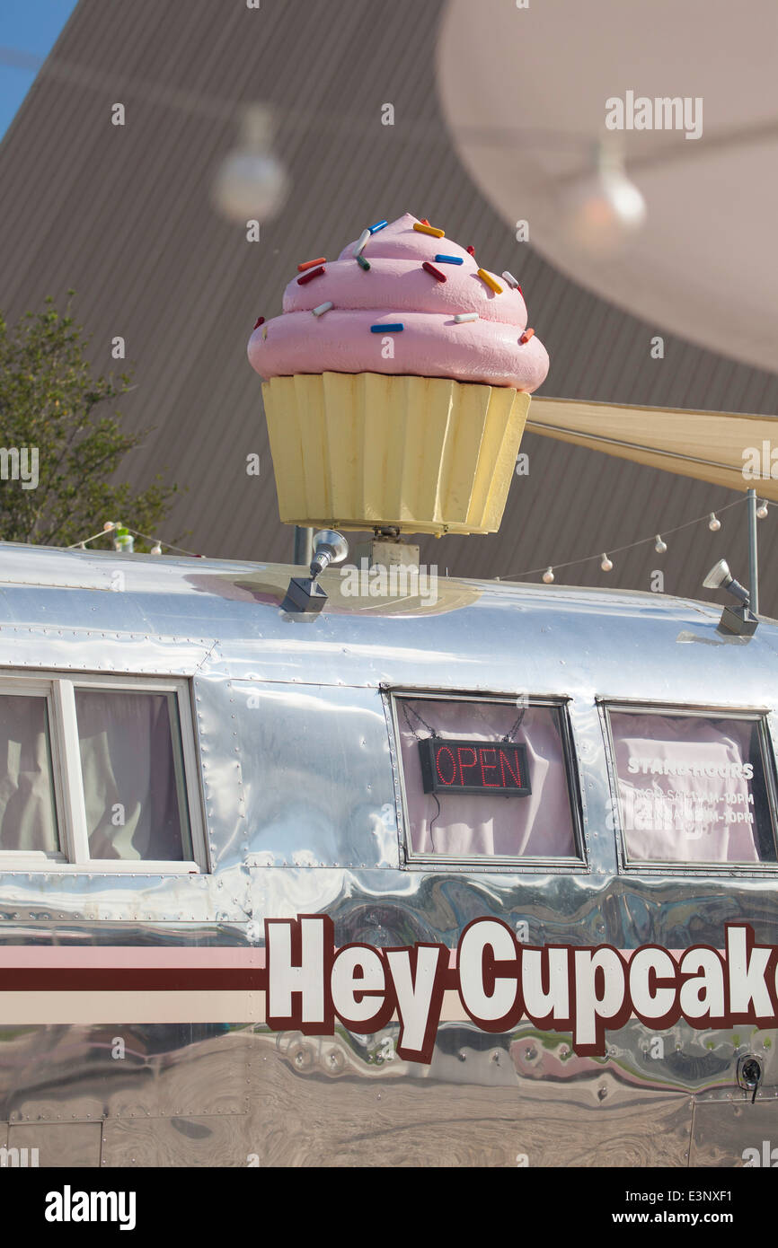 Cupcake store, Austin, Texas, United States of America - Stock Image