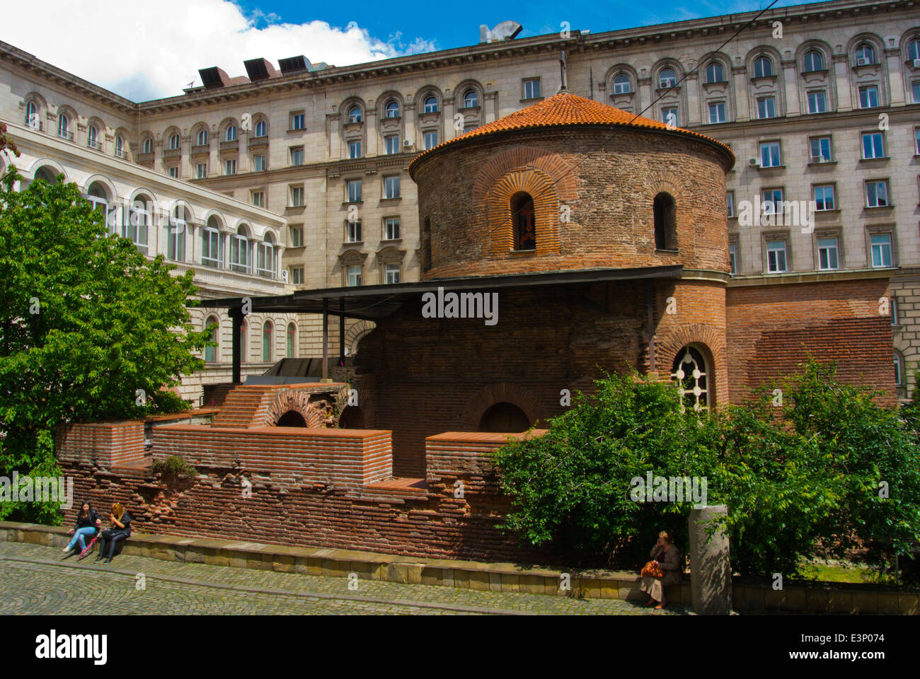 Church of St George, central Sofia, Bulgaria, Europe - Stock Image