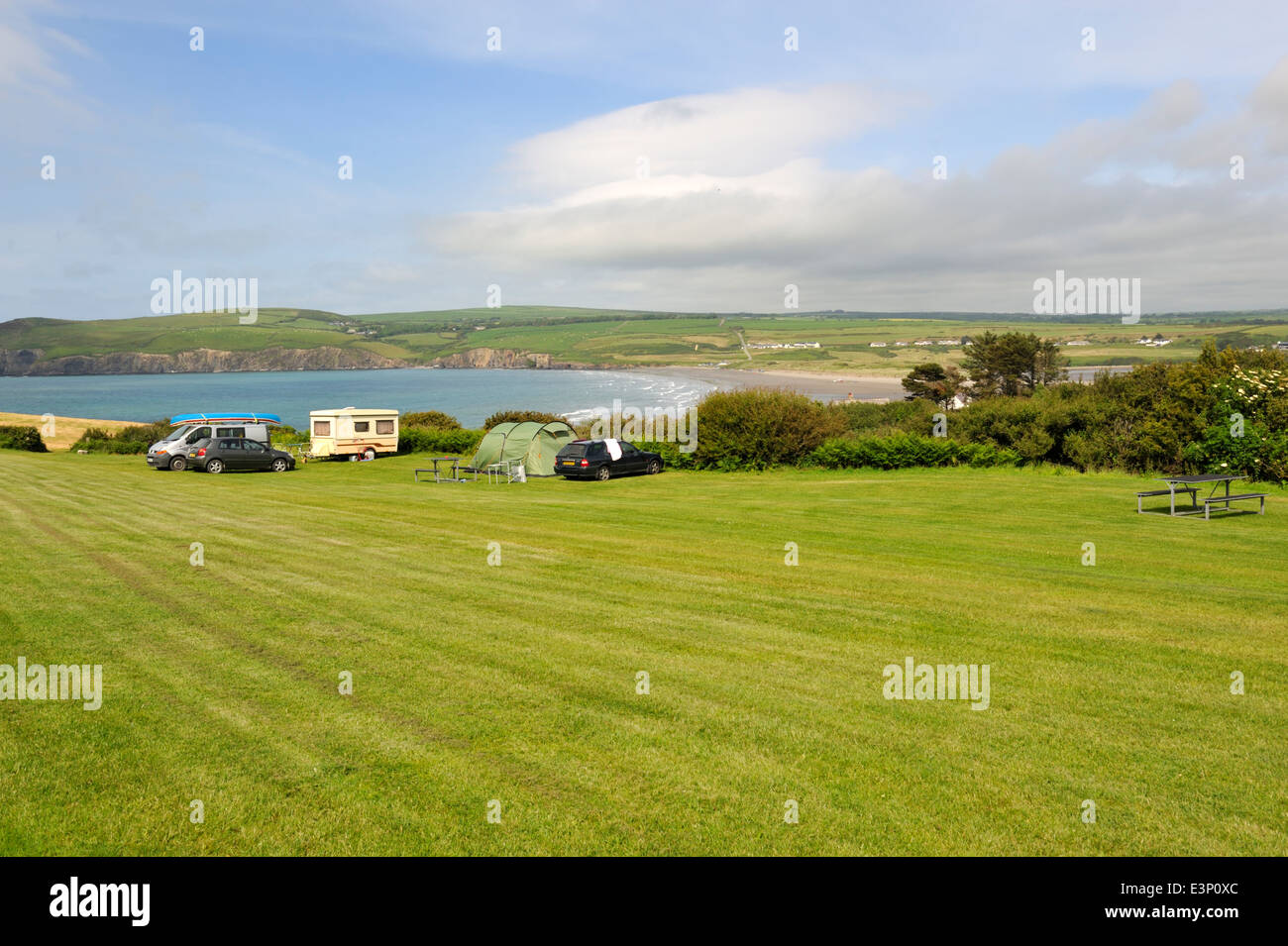 Beach Caravan Park Stock Photos & Beach Caravan Park Stock Images ...