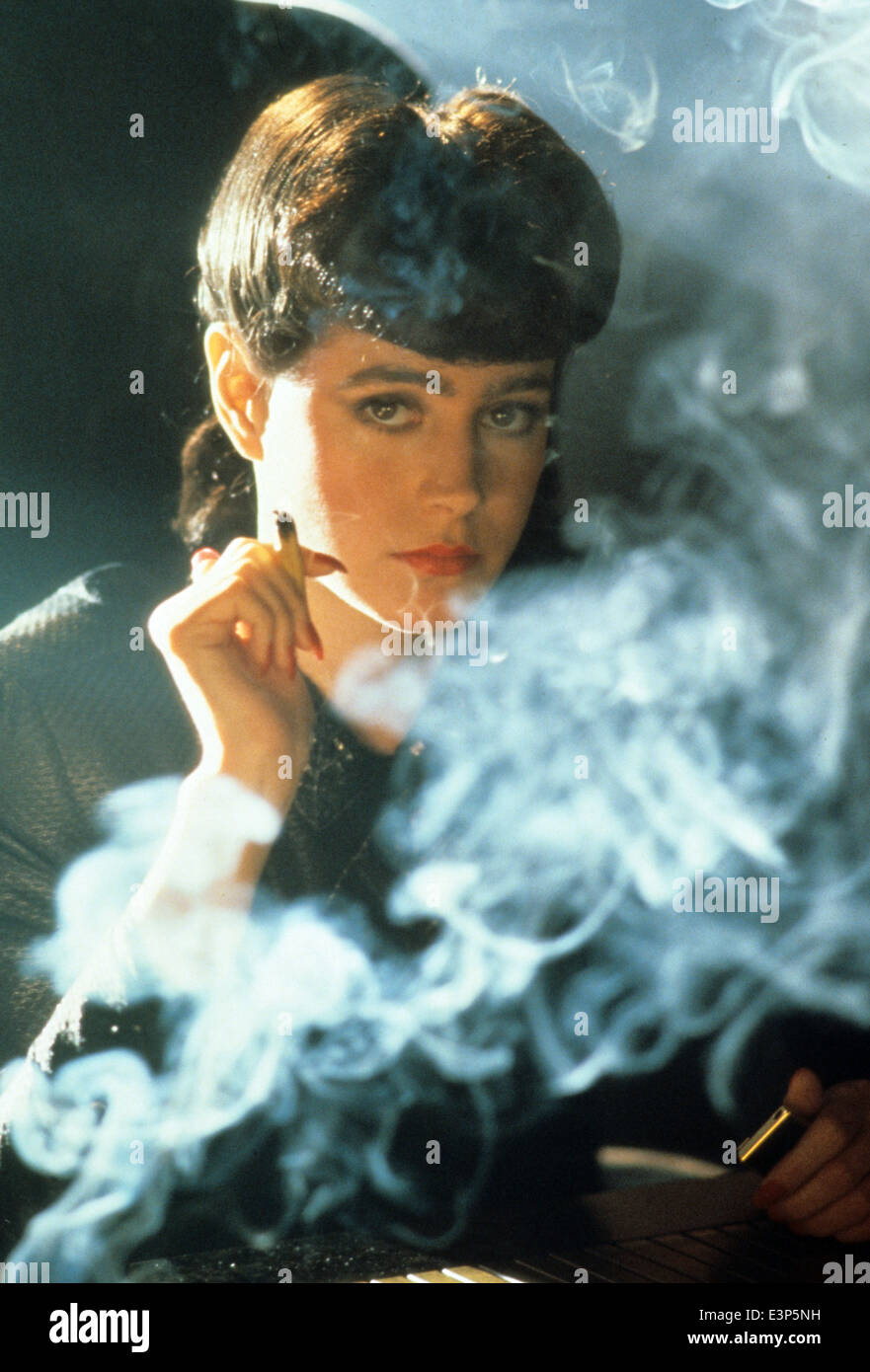 BLADE RUNNER 1982 Ladd Company/Warner Bros film with Sean Young - Stock Image
