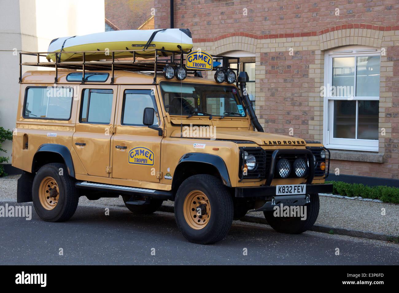 A Camel Trophy Land Rover Defender A Rugged Off Road