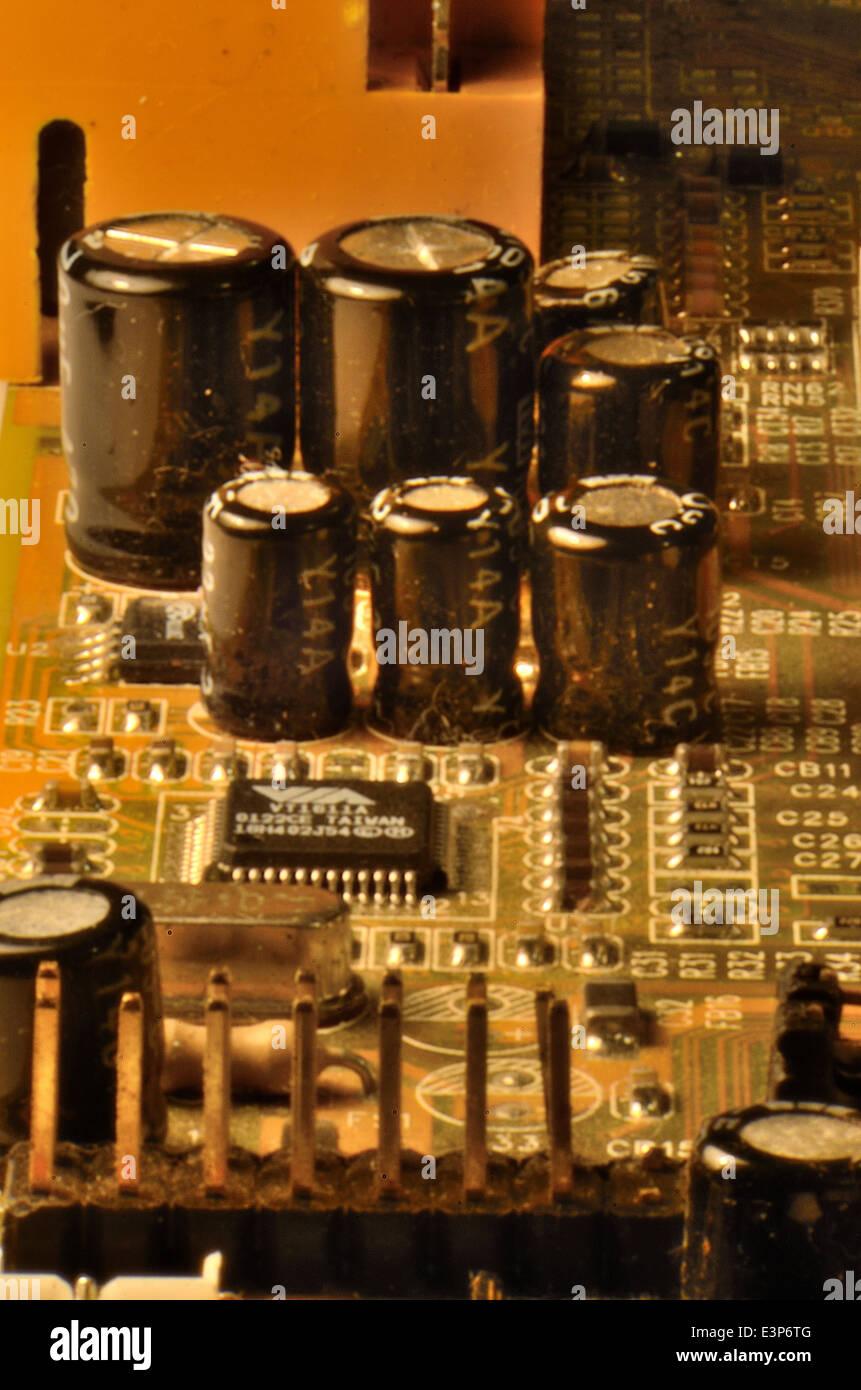 Computer circuitry - Stock Image