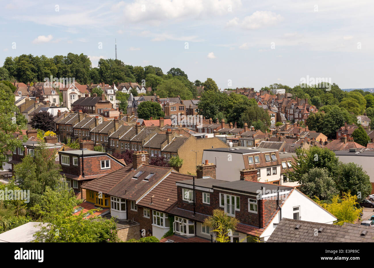 Muswell Hill - Haringey - London - Stock Image