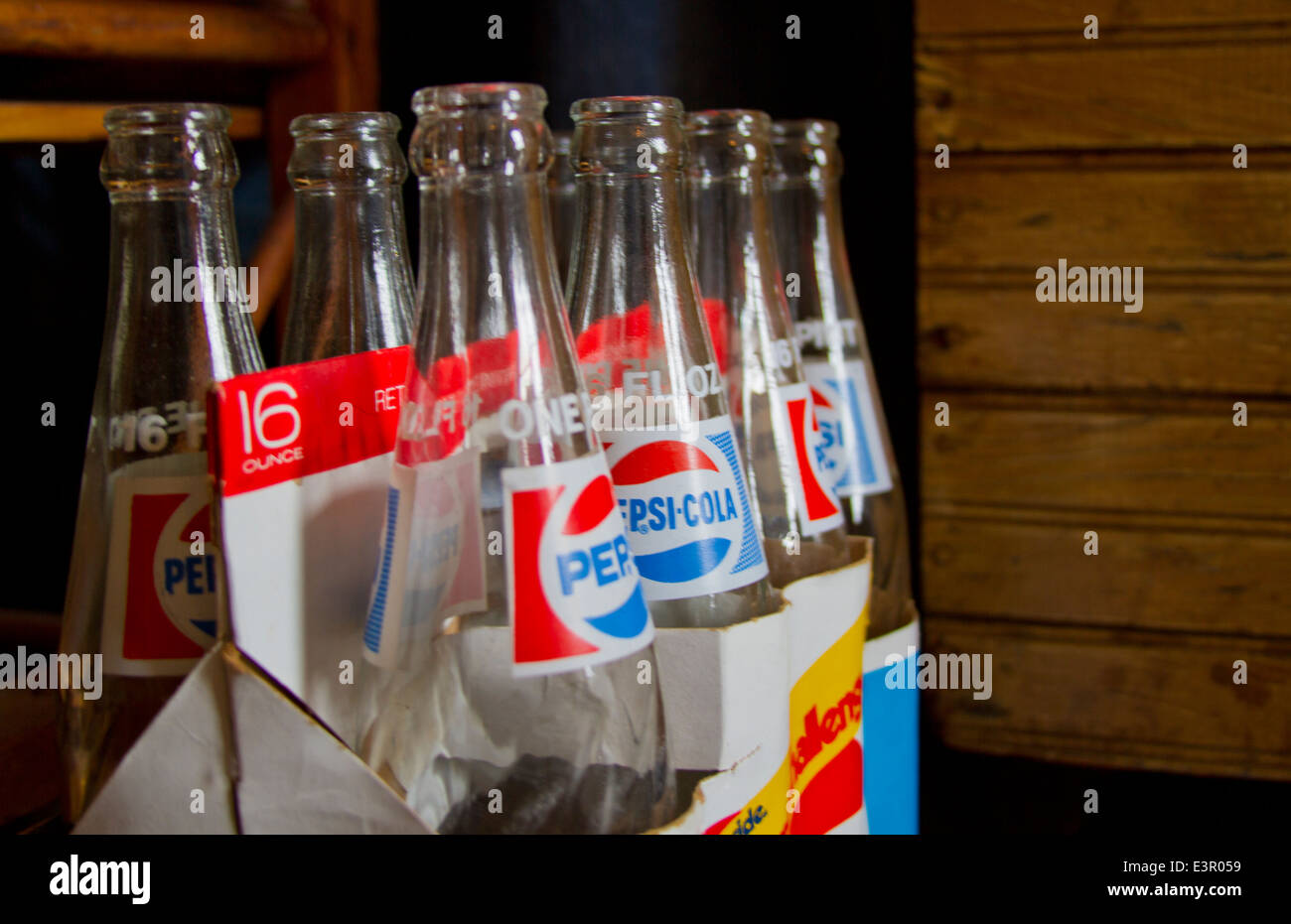 Antique Soda Bottles Stock Photos & Antique Soda Bottles Stock