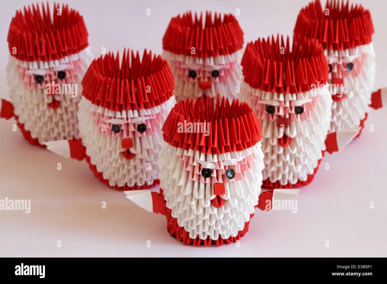 How to Make DIY Origami Santa Claus? | The Idea King Tutorial #40 ... | 956x1300