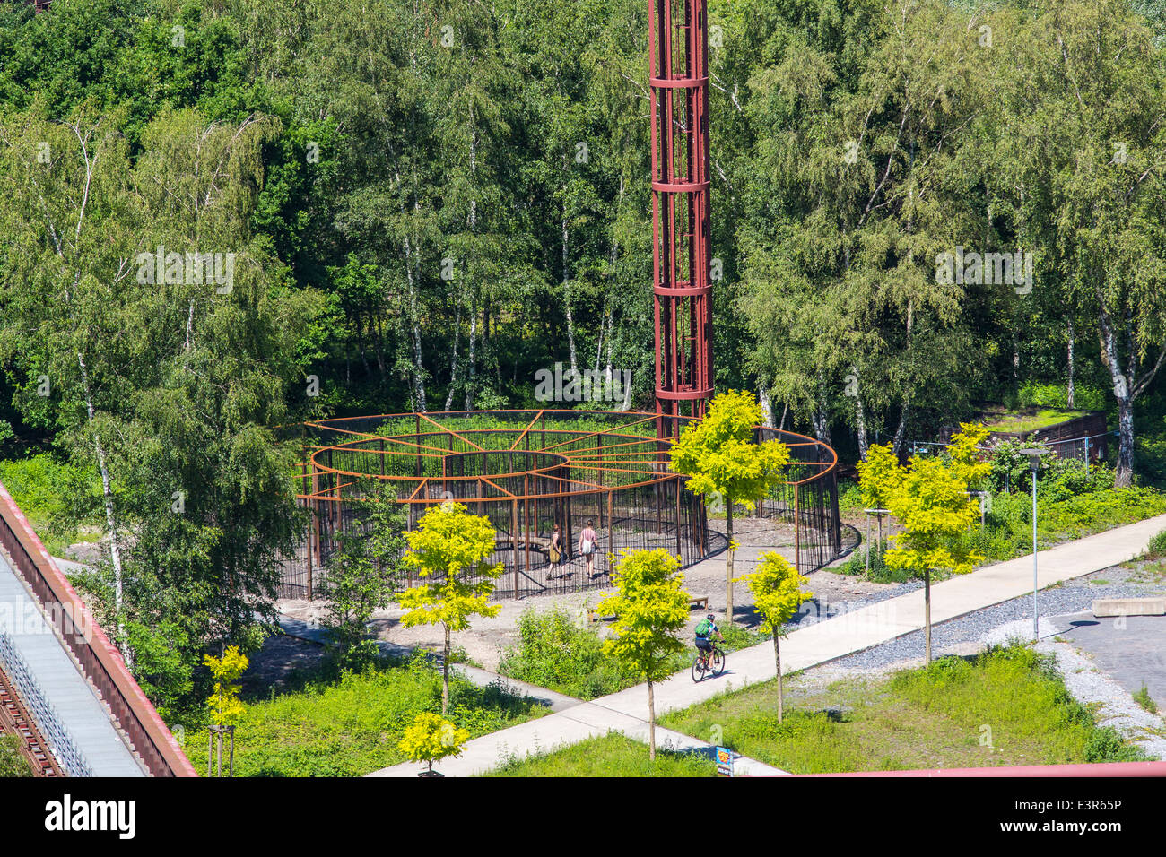 UNESCO world heritage site, Zeche Zollverein, Essen, Germany. Formerly the biggest coal mine in the world. - Stock Image