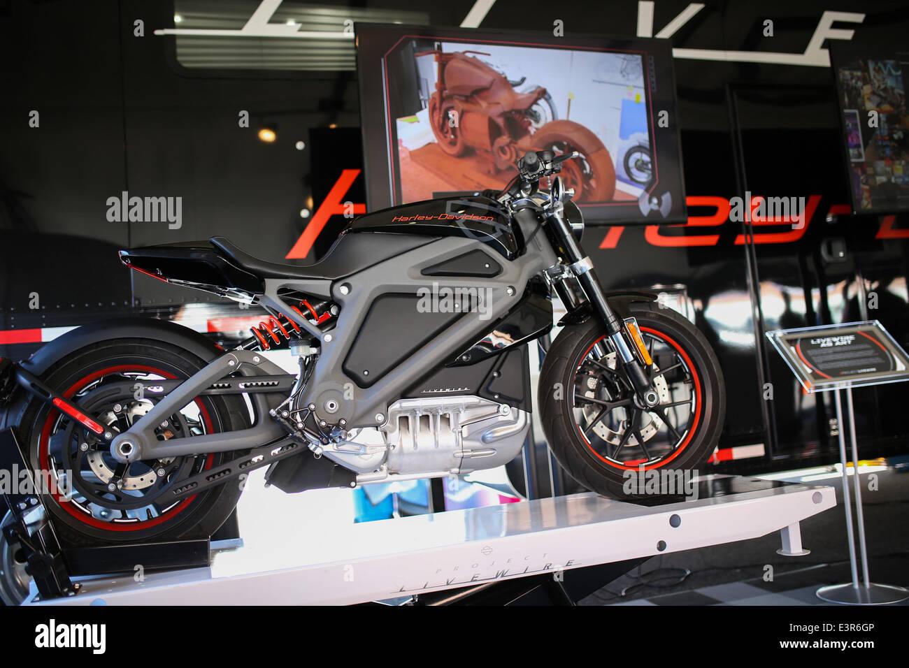 Boston Harley Davidson >> Revere Massachusetts Usa 27th June 2014 The Harley
