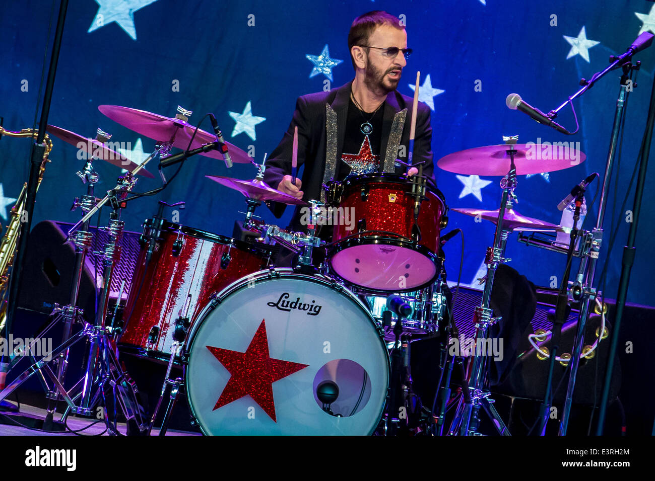 27th June 2014 RINGO STARR And His All