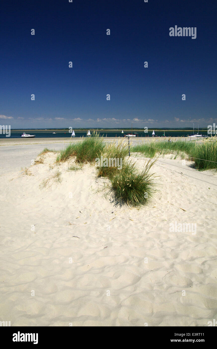 cb33b2a10 Sand dunes at East Head - West Wittering, Sussex Stock Photo ...