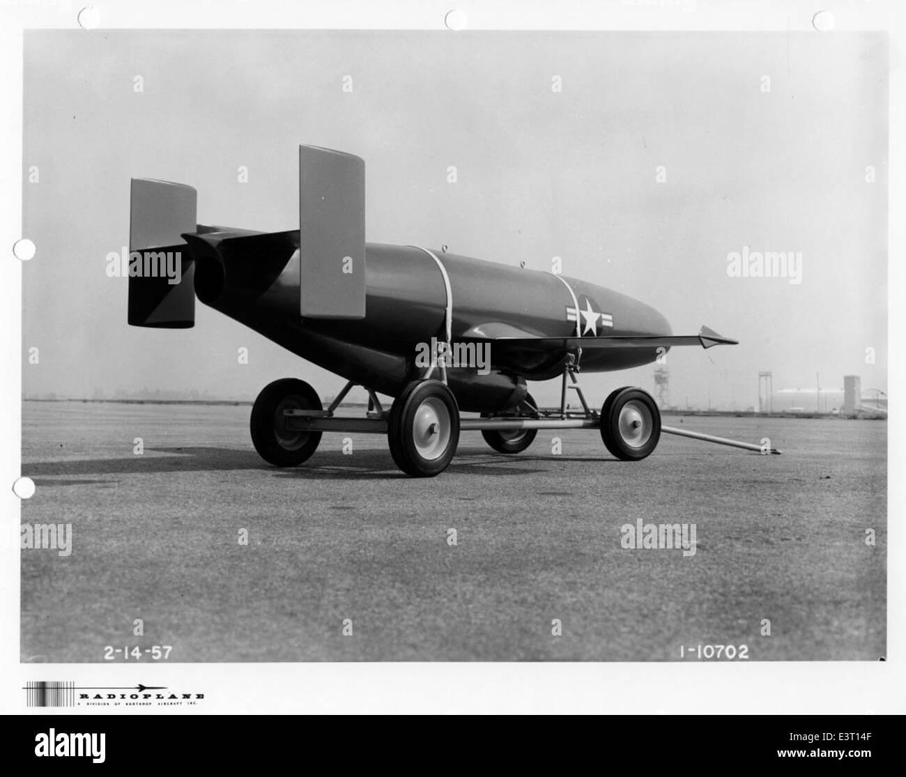 1-10702 1956-02-14 Radioplane RP-54D print scan - Stock Image