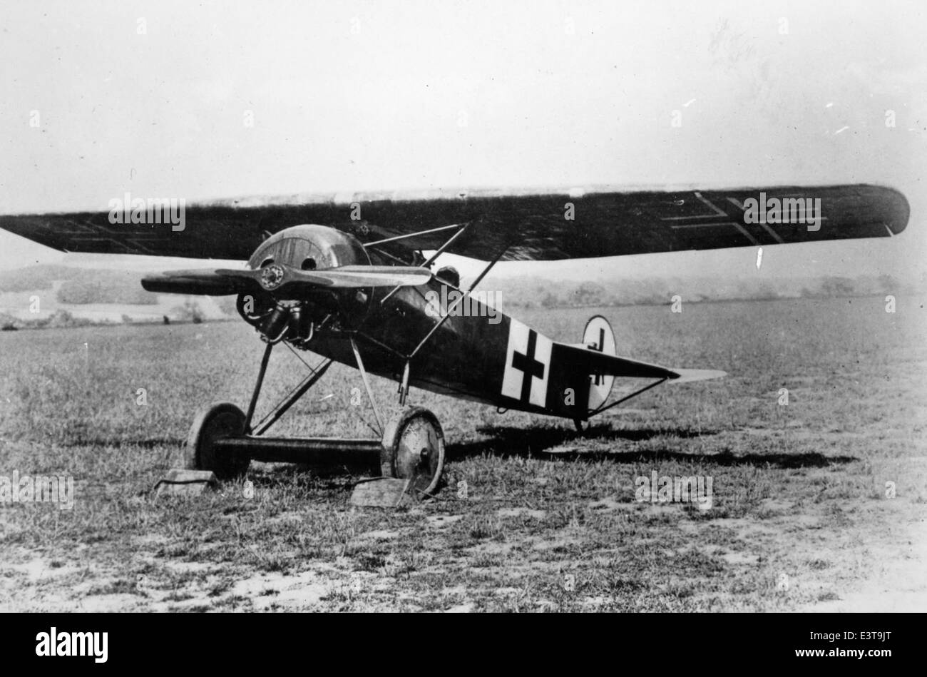Fokker E8 Stock Photo