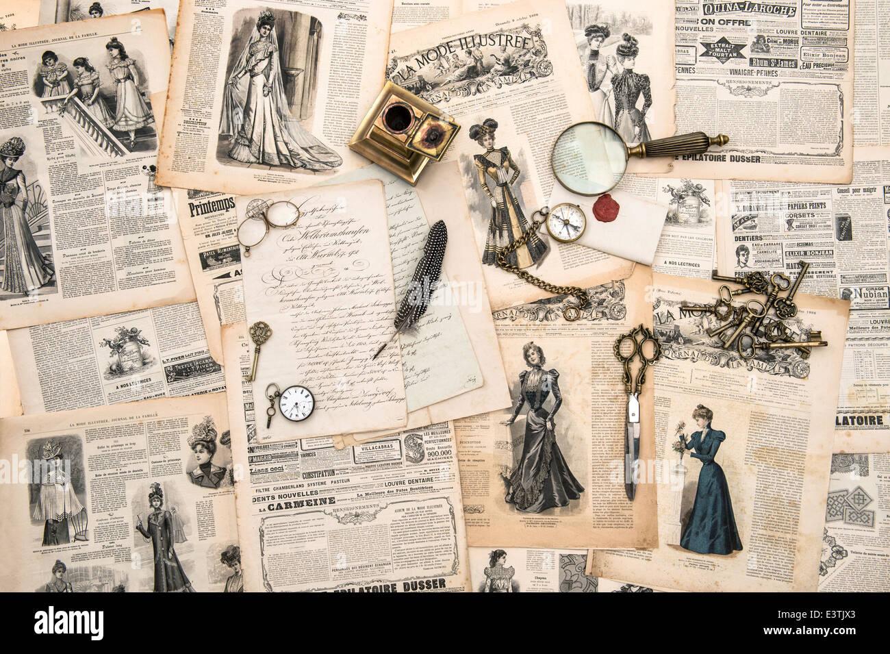 769af175bc antique office accessories