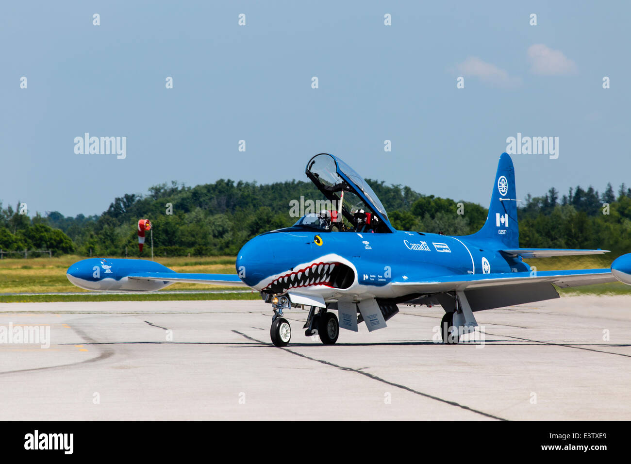 Waterloo, Ontario, Canada. 27th June, 2014. T-33 Silver Star Mako ...