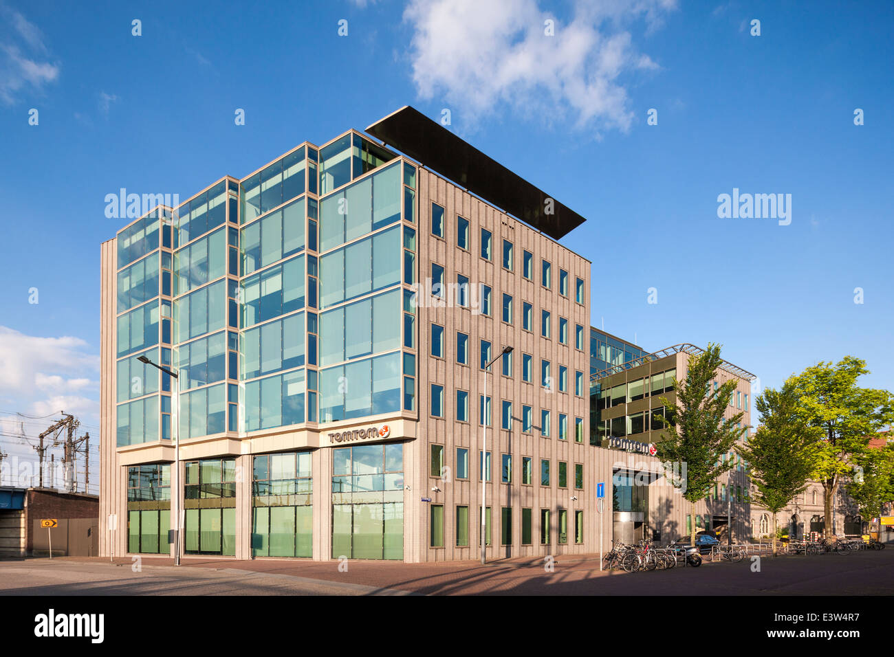 TomTom Amsterdam, HQ, headquarters, head office. Dutch manufacturer of  automotive navigation systems