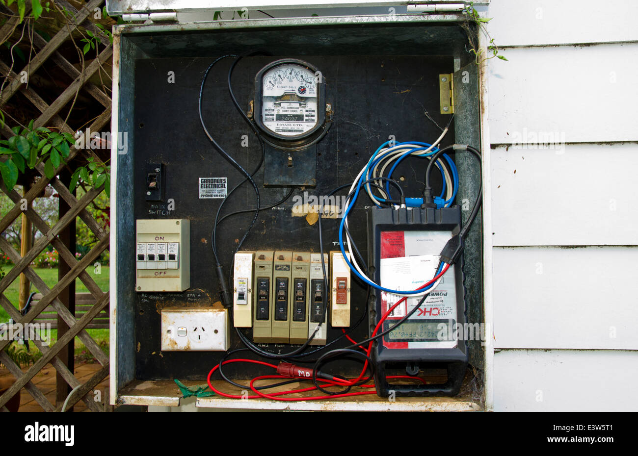 Fine Electric Meter Box Stock Photos Electric Meter Box Stock Images Wiring Digital Resources Inamapmognl