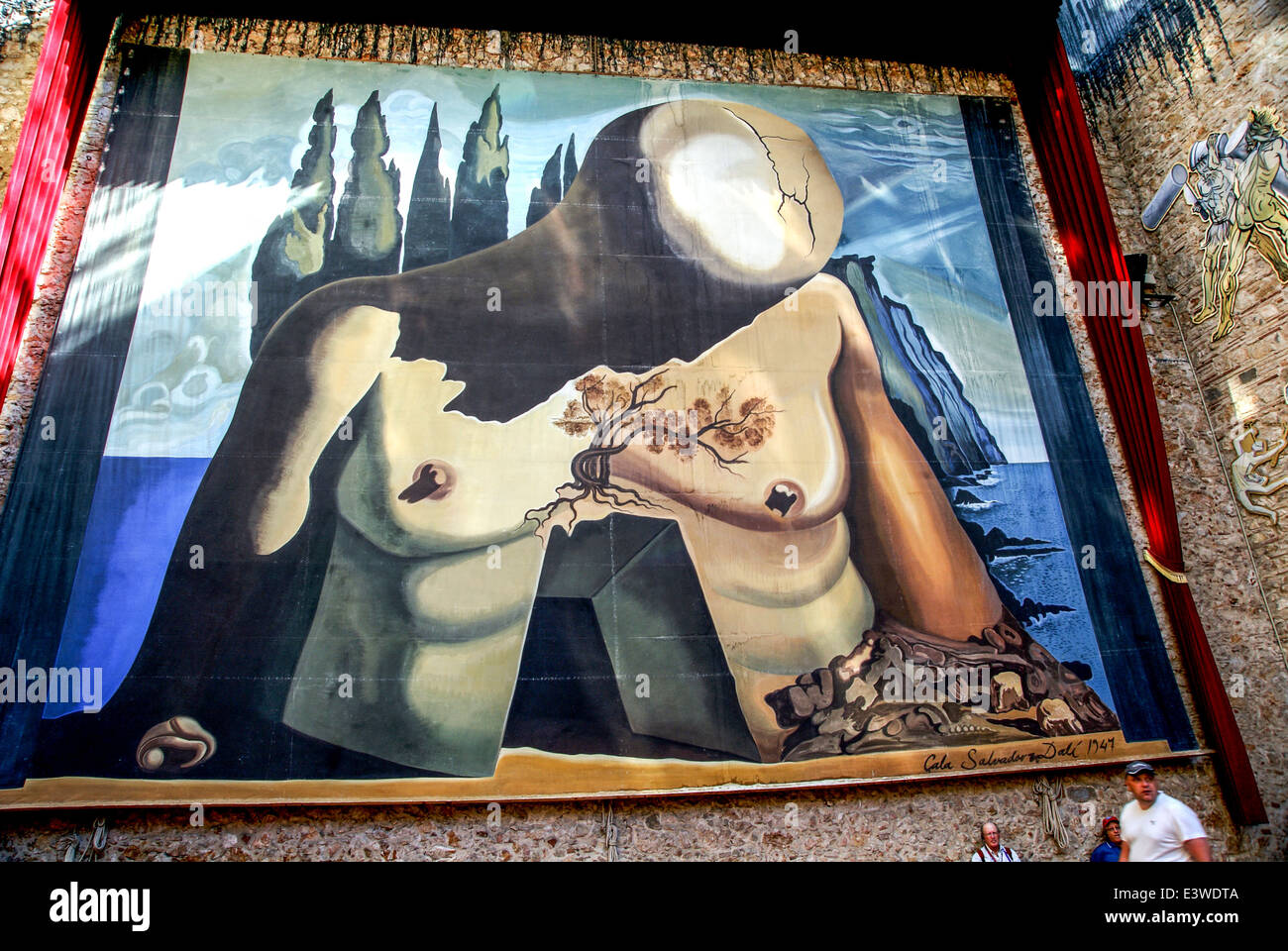 Dalí Theatre and Museum, Figueres, in Catalonia, Spain. - Stock Image