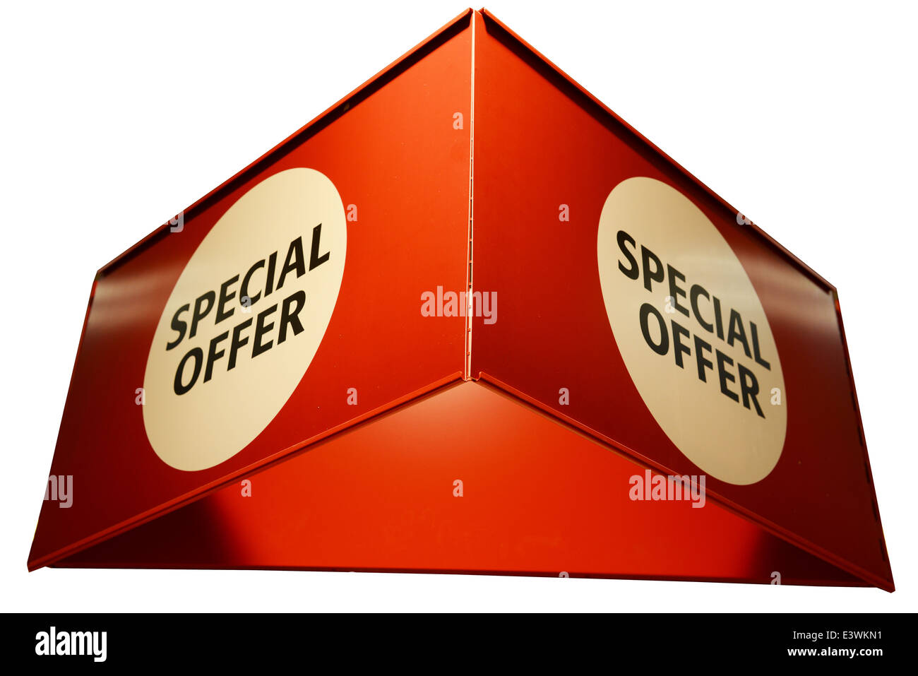 Special offer sign - Stock Image