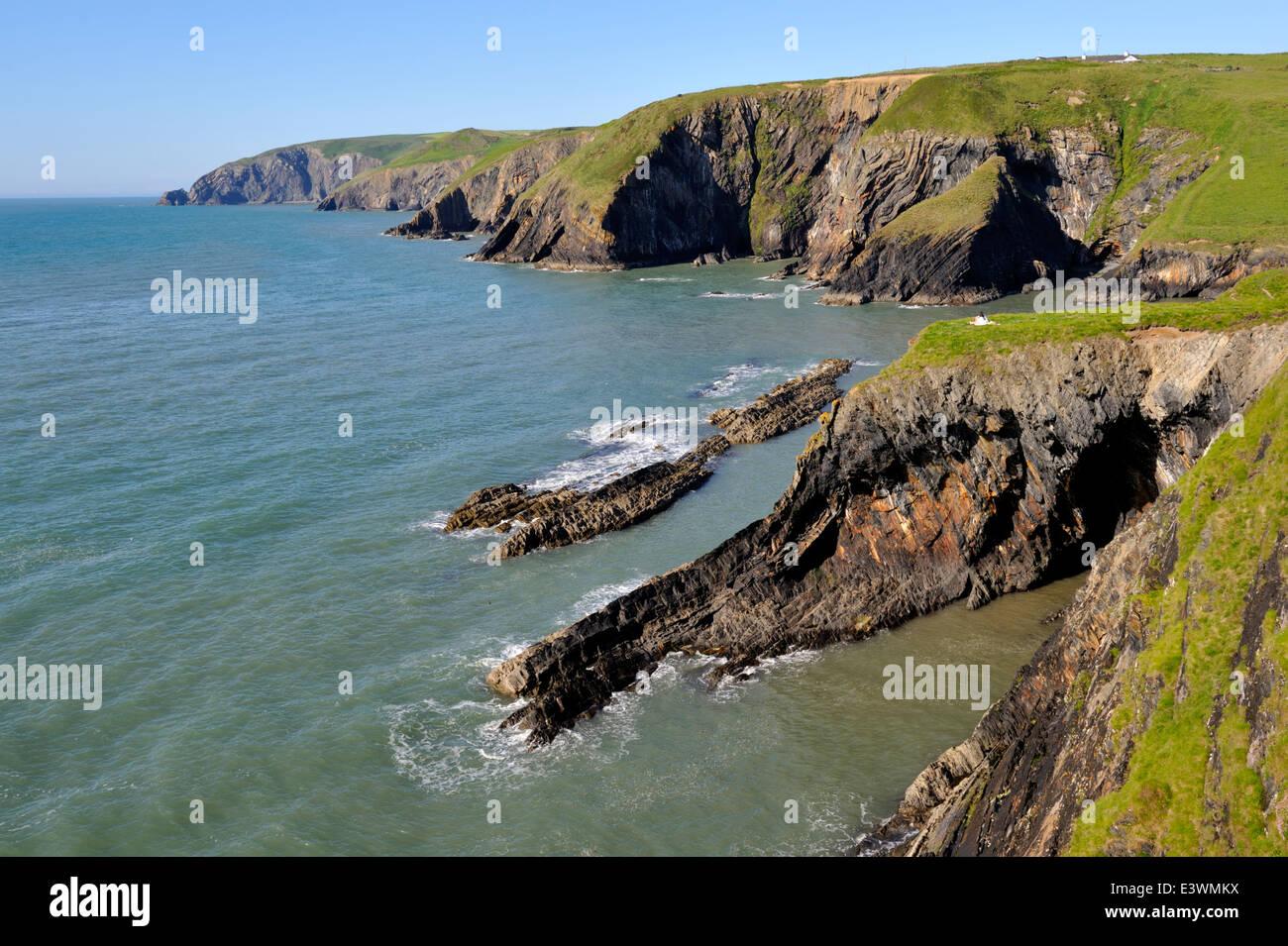 Ceibwr Bay Stock Photos & Ceibwr Bay Stock Images - Alamy