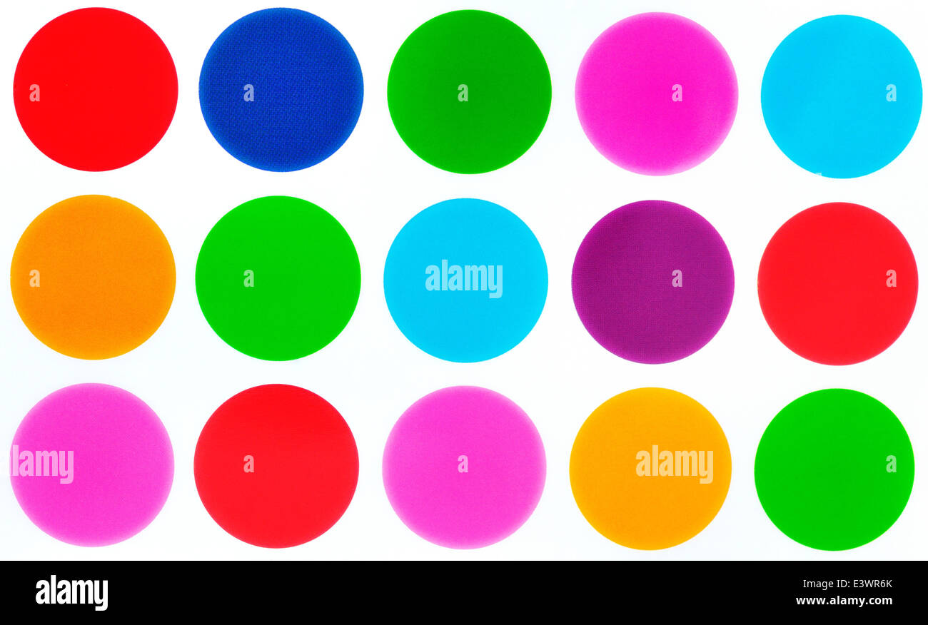Colorful Background Dot Patterns Stock Photos & Colorful