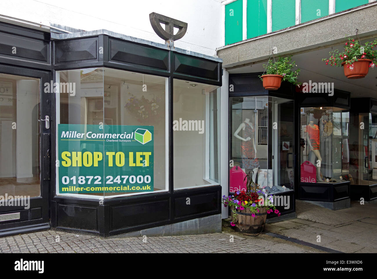 shop to let - Stock Image