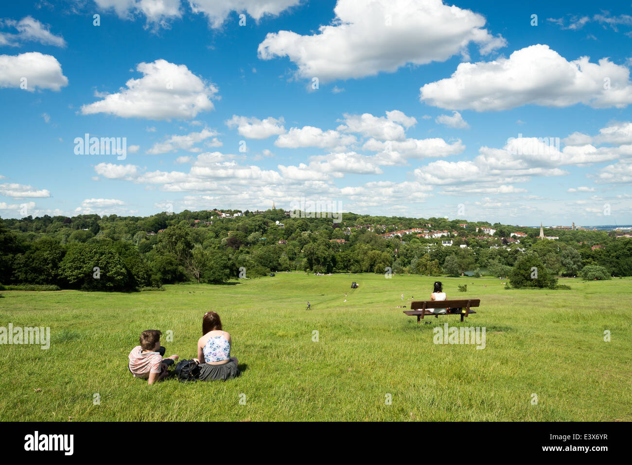 Hampstead Heath, London, UK - Stock Image